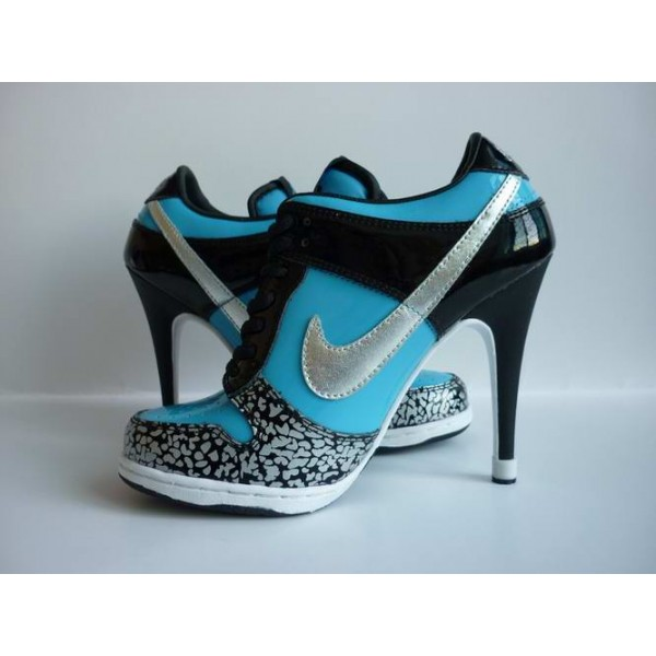 ... suo-ng57ta nike dunk low heels blue black for momen [nike heels] ... YRFKWZO